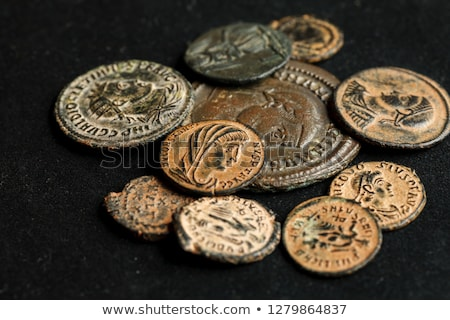 different coins of old greek money stock photo © capturelight