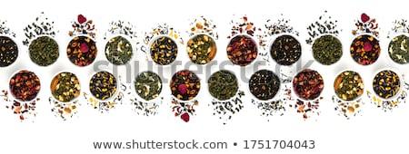 Bő tea asztal fa egészség gyógyszer Stock fotó © racoolstudio