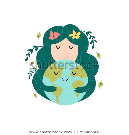 terra · rosto · sorridente · 16 · simples - foto stock © bluering