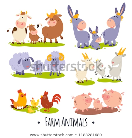 Children with domestic animals Stock photo © bluering