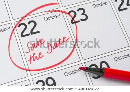 22nd October Stock photo © Oakozhan