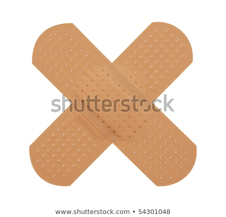 first aid plasterisolated on white with clipping path stock photo © kayros