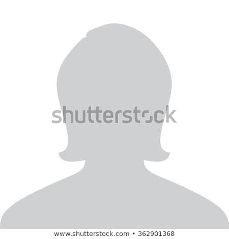 placeholder icon on white background Stock photo © nickylarson974