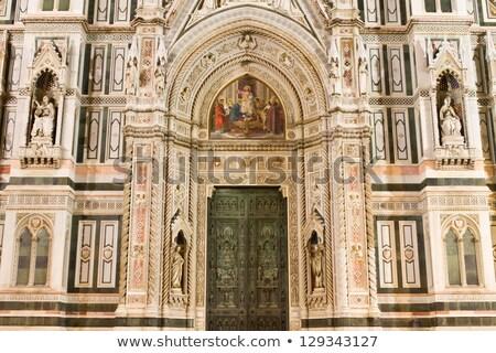 Heykel Floransa İtalya görmek Avrupa kültür Stok fotoğraf © boggy