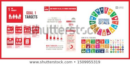 Yoksulluk dünya global Stok fotoğraf © devon