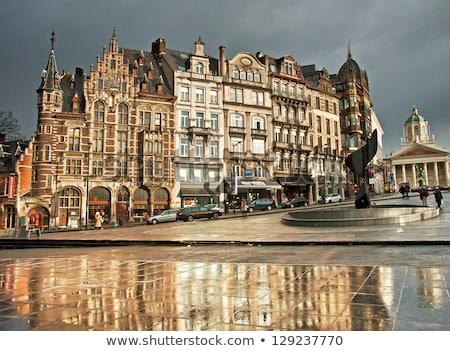 Fountain in Brussels Stock photo © artjazz