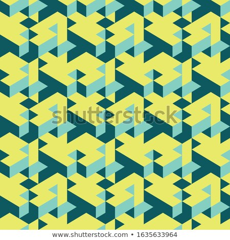 Abstract isometry background Stock photo © orson