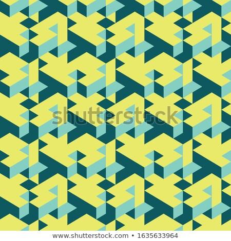 キューブ · キューブ · 錯覚 · デザイン · 芸術 · 白 - ストックフォト © orson