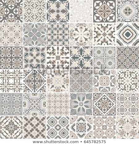 abstrato · cor · azulejos · vetor · banheiro - foto stock © swillskill