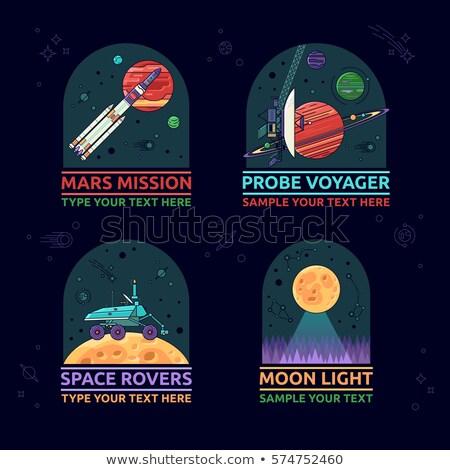 Mars Space Misson Design Stock photo © sgursozlu