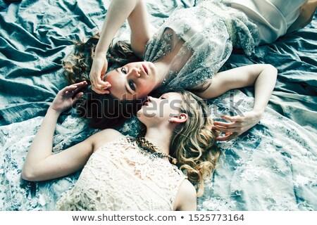 elegáns · elegáns · szőke · nő · szépség · gazdag · belső - stock fotó © iordani