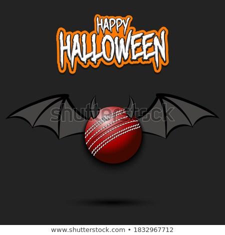 дьявол крикет спортивных талисман Сток-фото © Krisdog