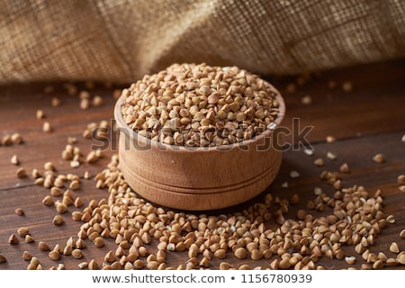 bowl of raw buckwheat Stock photo © Digifoodstock