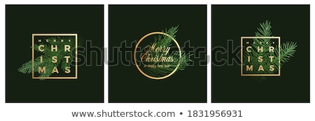 nieuwjaar · vrolijk · christmas · cirkel · lang - stockfoto © genestro