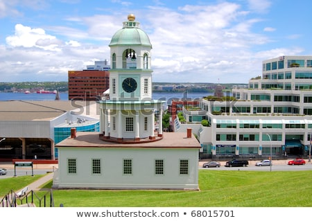 Halifax Town Clock, Nova Scotia  Stock photo © benkrut