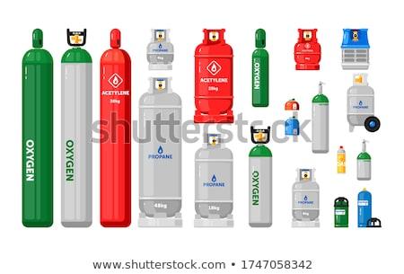Tanque recipiente garrafas ilustração 3d isolado negócio Foto stock © anadmist