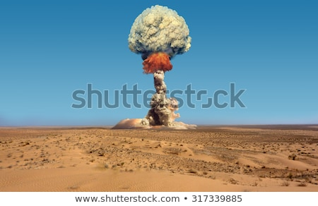 nuclear explosion war stock photo © rogistok