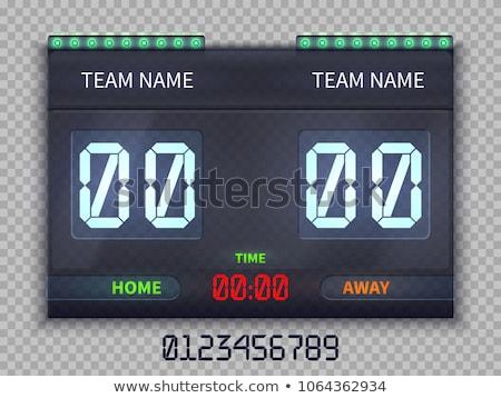 simples · casa · convidado · scoreboard · ícone · isolado - foto stock © kyryloff