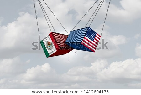 Mexico Tariff On United States Stock photo © Lightsource