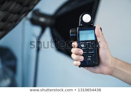 ışık fotoğrafçılık maruz kalma teknoloji arka plan sanayi Stok fotoğraf © rakey