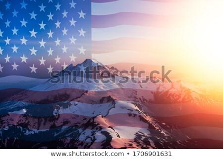 American Baker USA Flag Icon Stock photo © patrimonio