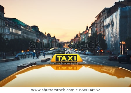 icono · taxi · eps · negocios · diseno · signo - foto stock © jossdiim