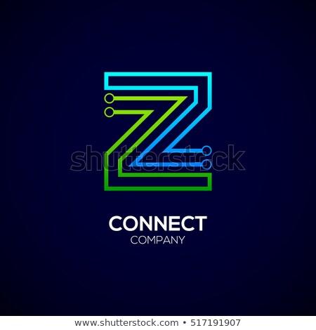 緑 文字z ロゴタイプ シンボル ベクトル デザイン ストックフォト © blaskorizov