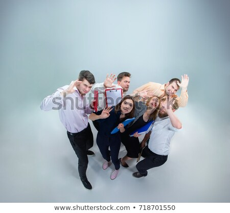 small businessman kicked by big shoe stock photo © ra2studio