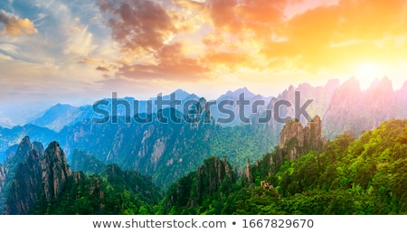 A cliff nature background Stock photo © bluering