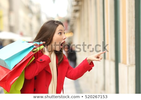 Shopping Sale Women Buying Gifts and Products Stock photo © robuart