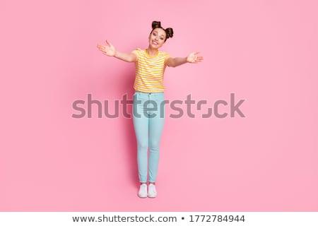 Encanto descuidado retrato encantador glamour menina Foto stock © Artlover