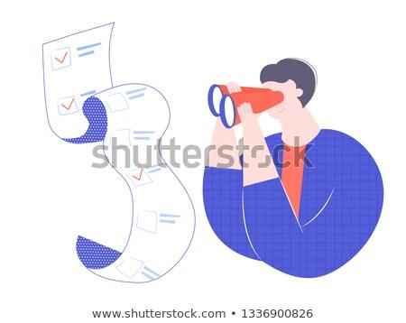 見える 小さな 深刻 スマートフォン 任命 ストックフォト © pressmaster