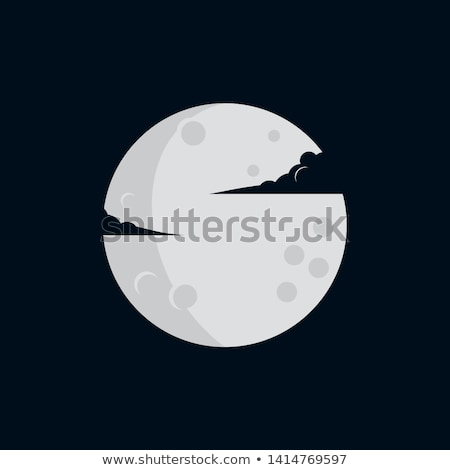 phases of the simple moon Stock photo © Blue_daemon