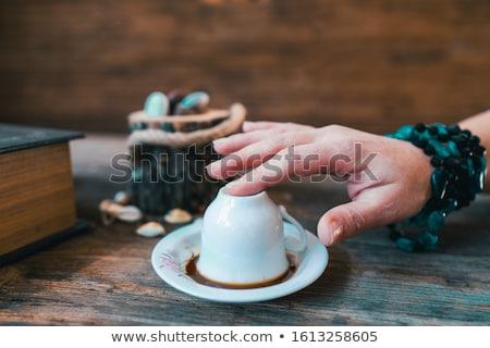Fortune teller reading a womans future Stock photo © ayelet_keshet