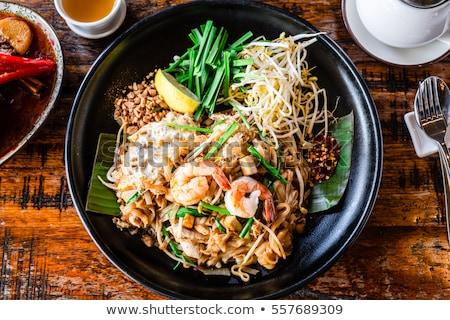 pad thai stock photo © pancaketom