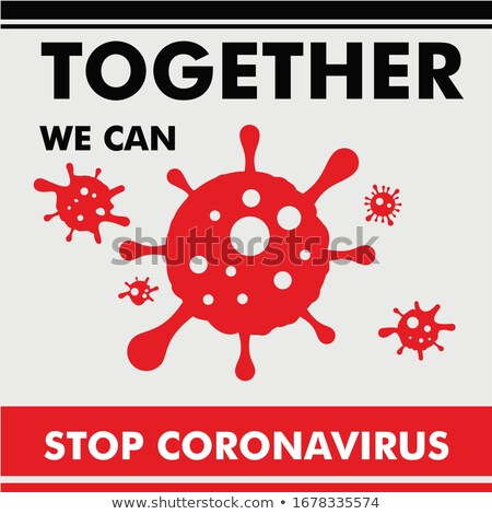 Coronavirus Covid-19, 2019-nKoV. Illustration of virus. World pandemic concept. Vector illustration Stock photo © olehsvetiukha