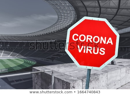Stock photo: Cancelled Sporting Events Coronavirus