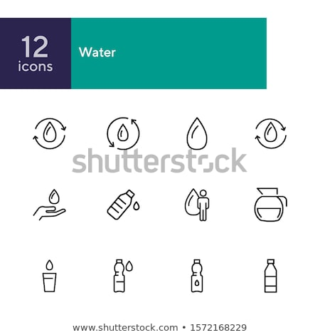 renewal of group of people icon vector outline illustration Stock photo © pikepicture