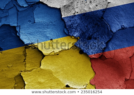 Ukraine and Russia confrontation Stock photo © Kotenko