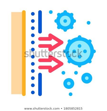 икона вектора иллюстрация знак изолированный Сток-фото © pikepicture