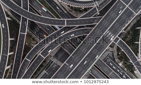 China wegteken groene wolk straat teken Stockfoto © kbuntu