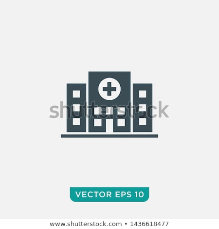 sağlık · tıp · hastane · simgeler · vektör - stok fotoğraf © stoyanh