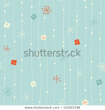 Winter - christmas endless pattern Stock photo © orson
