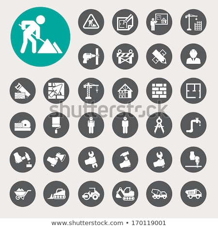 Architecture and construction icons Stock photo © carbouval