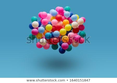 abstract colorful balls set Stock photo © pathakdesigner