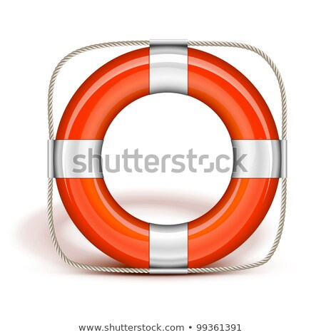Life Belt in upright Stock photo © tilo