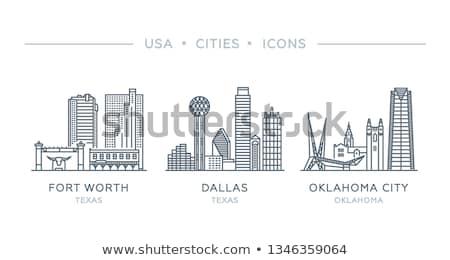 Cartoon Fort Worth Stock photo © blamb