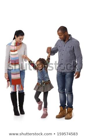 interracial couple going for a walk stock photo © photography33