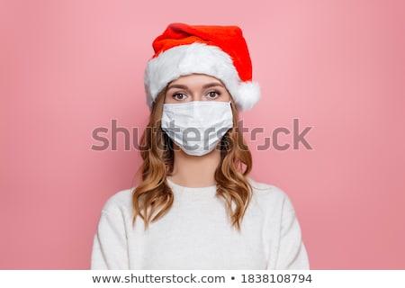 Triest meisje geïsoleerd witte jonge vrouw ongelukkig Stockfoto © Ariwasabi