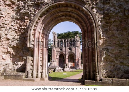 ruins of Dryburgh Abbey, Scottish Borders, Scotland Stock photo © phbcz